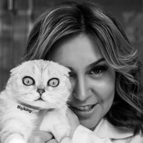 Директор зоогостиницы для кошек